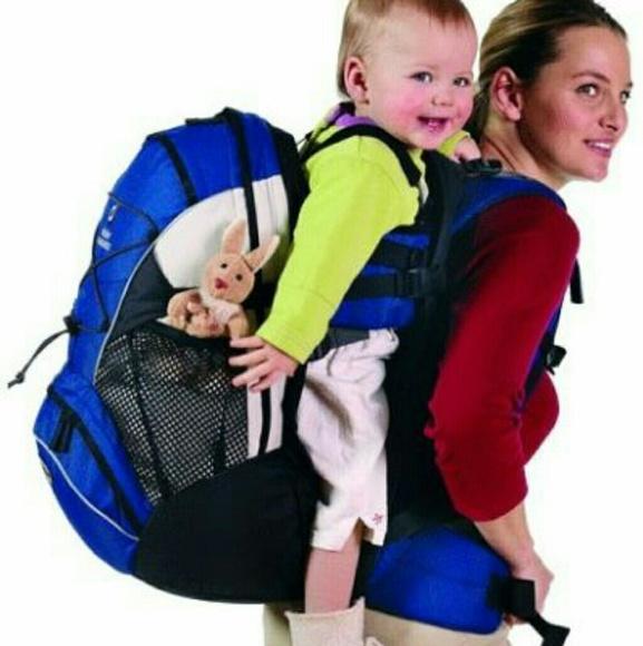 46% off Deuter Handbags - Deuter Kangakid Child Carrier Backpack ...